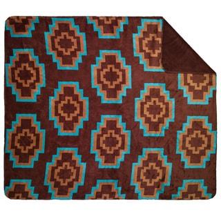 Denali Brown Aztec Throw Blanket