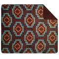 Denali Brown Aztec Throw Blanket