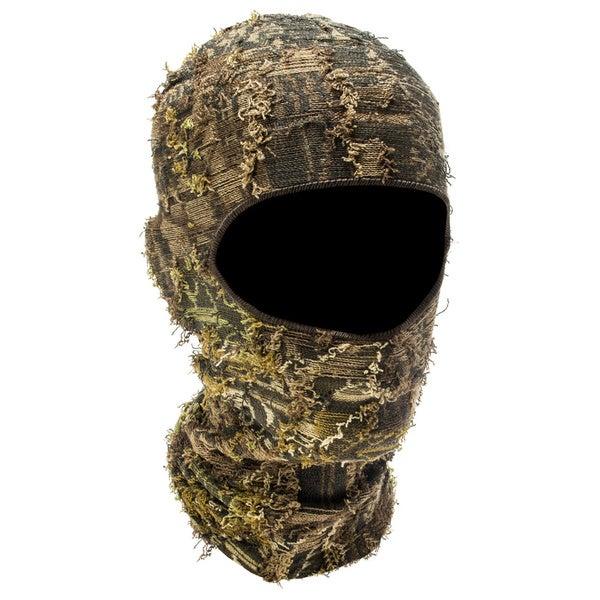 QuietWear Camo Grass 1-hole Mask