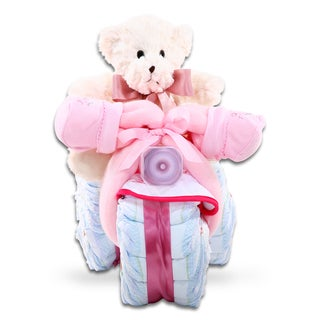Alder Creek Tricycle Diaper Cake-Girl