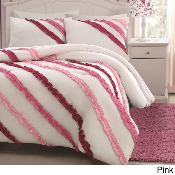 Mckenzie 3-piece Ruffle Comforter Set