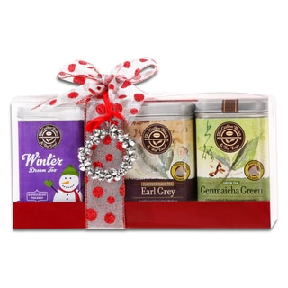 Alder Creek Gift Baskets CBTL Holiday Tea Sampler