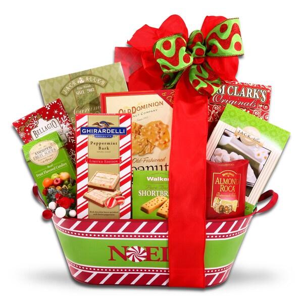 Alder Creek Gift Baskets Holiday Cheer Gift Basket