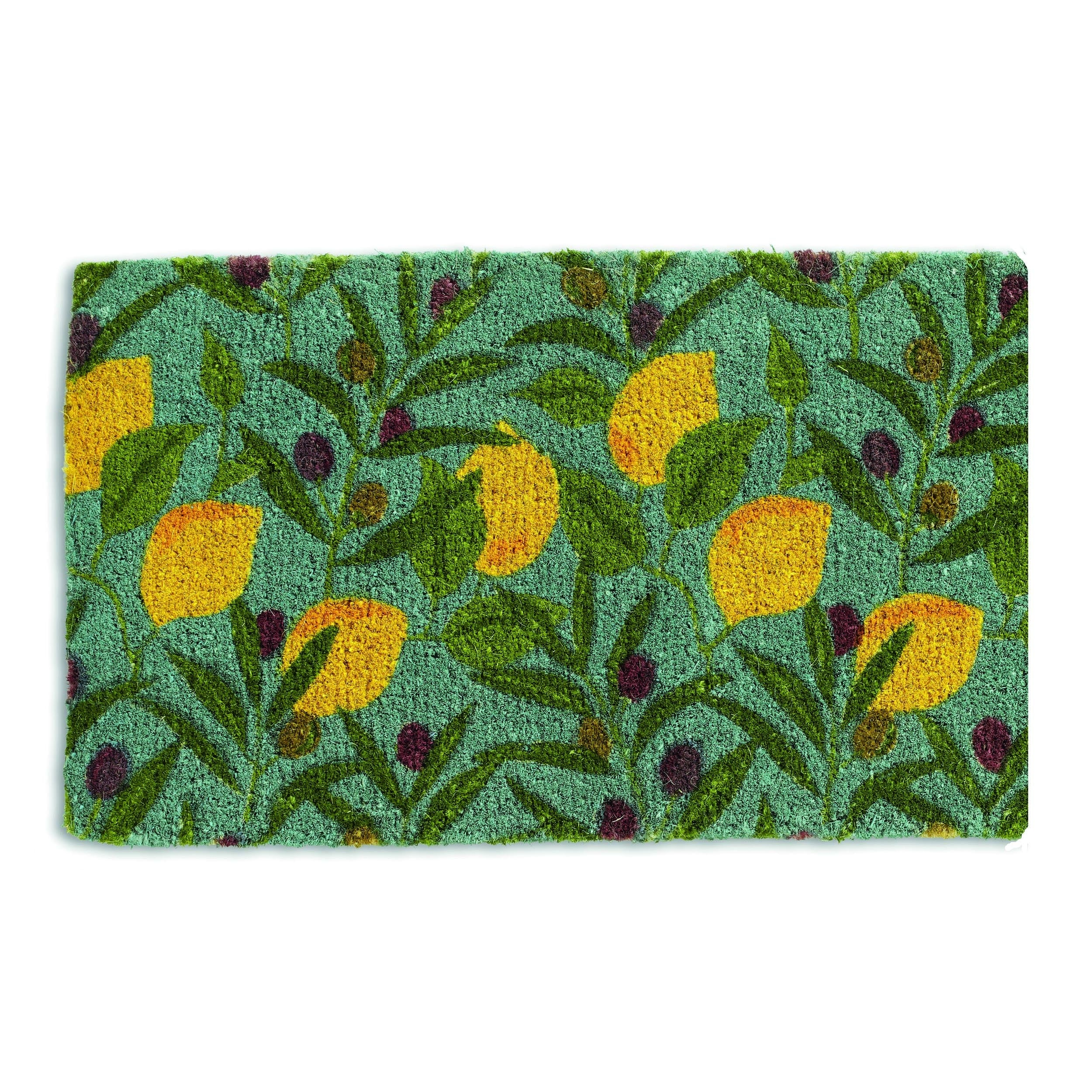 Lemons and Olives Coir Door Mat (18 x 30)