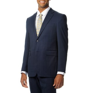 Nautica Men's Blue Wool Performance Blend 2-piece Suit