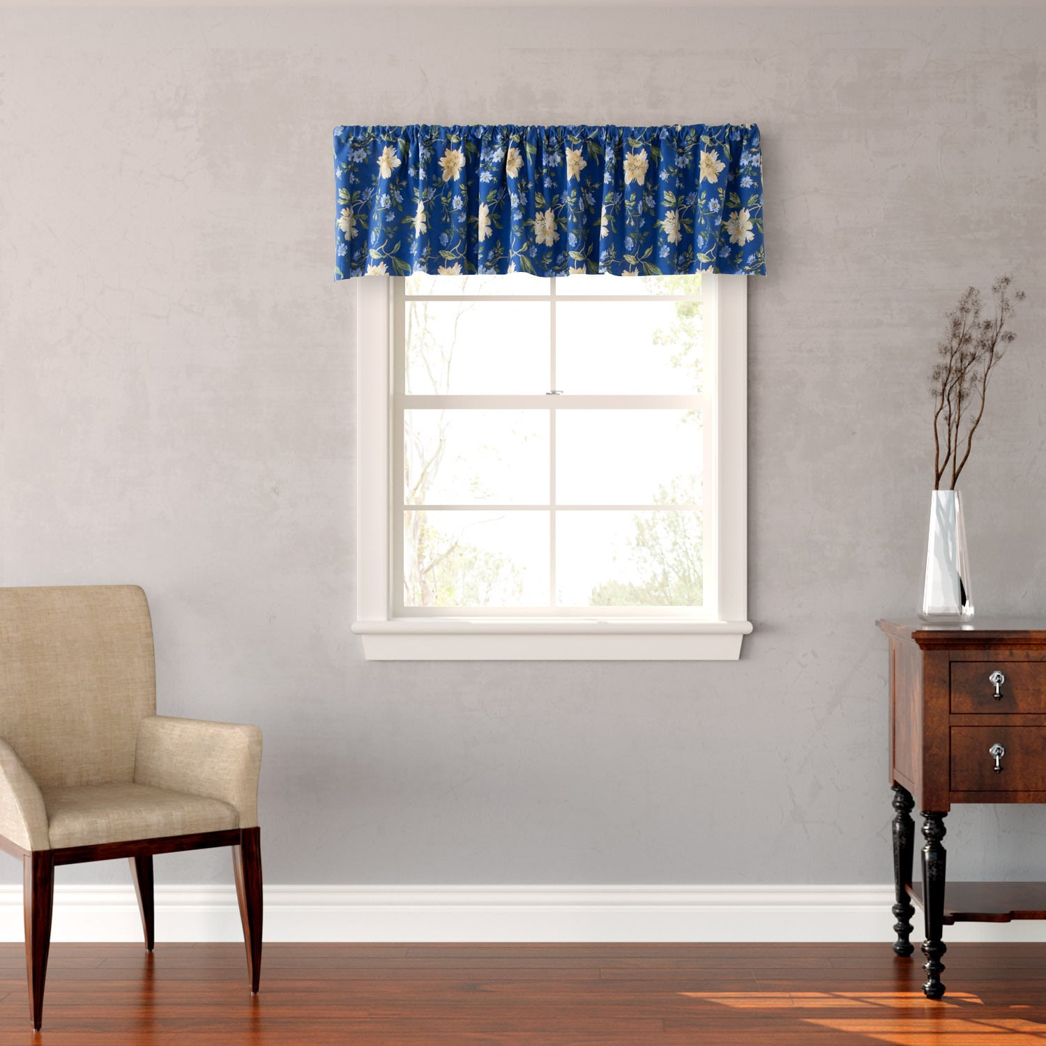 Laura Ashley Emilie Floral Window Valance at Sears.com