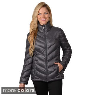 Calvin Klein Women's Down Feather Puffy Jacket
