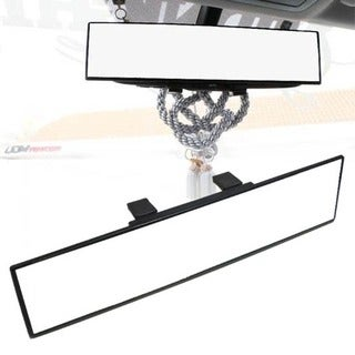 Wide Flat Auto Interior Clip On Rear View Mirror