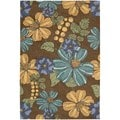 Nourison South Beach Chocolate Rug 8' x 10'6