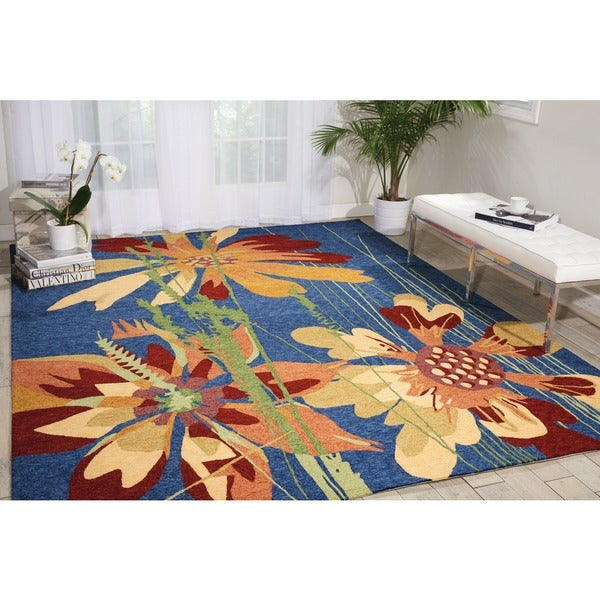 Nourison South Beach Denim Rug 10' x 13'