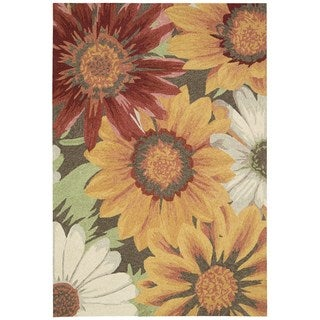 Nourison South Beach Sunflower Rug 5' x 7'6