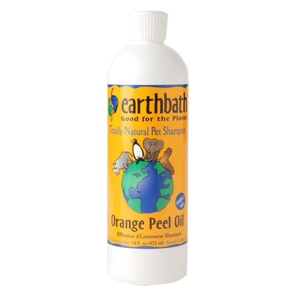 Earthbath Orange Peel Oil Pet Shampoo