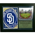 San Diego Padres 12x18-inch Photo Stat Frame