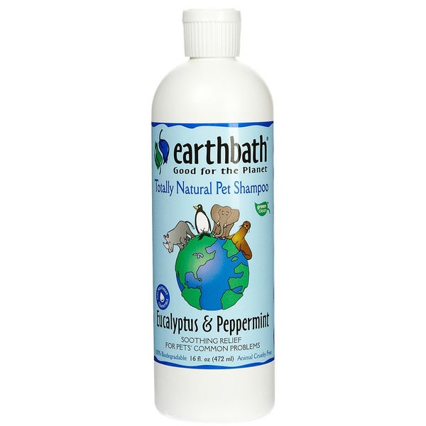 Earthbath Soothing Eucalyptus & Peppermint 16-ounce Pet Shampoo