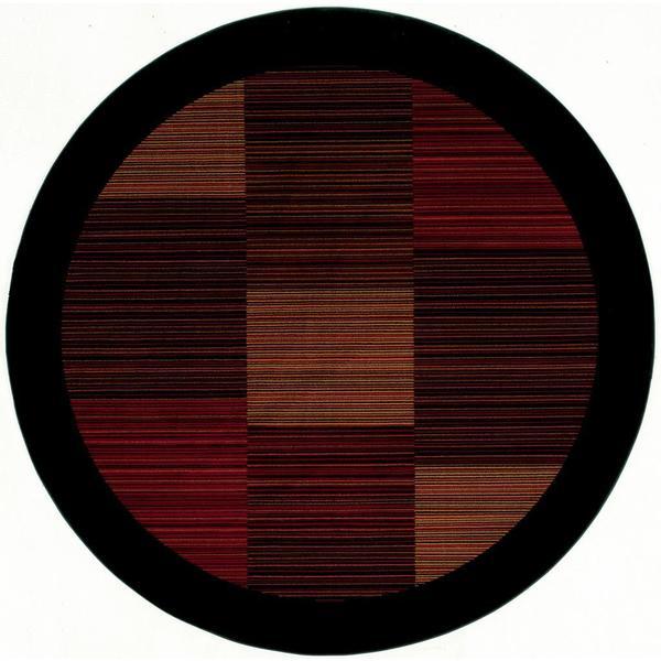 "Everest Hamptons/Multi Stripe 3'11"" Round Rug"