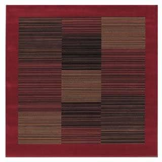 "Everest Hamptons/Red 5'3"" Square Rug"