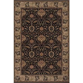 "Everest Herati Palm/Midnight 5'3"" x 7'6"" Rug"