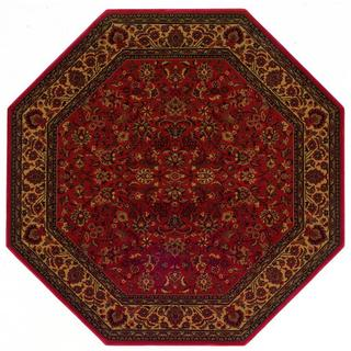 Everest Isfahan Crimson Area Rug (3'11 Octagon)