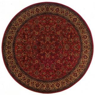 Everest Isfahan Crimson Area Rug (3'11 Round)