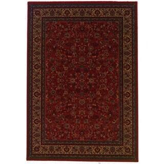 Everest Isfahan Crimson Area Rug (3'11 x 5'3)
