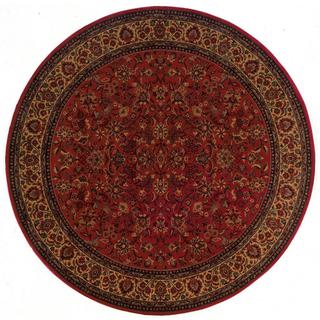 Everest Isfahan Crimson Area Rug (7'10 Round)