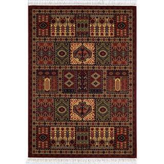 "Kashimar Antique Nain/Burgundy 7'10"" x 11'4"" Rug"