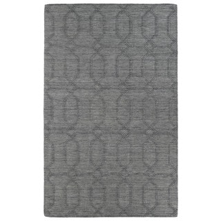 Trends Grey Pop Wool Rug (5' x 8')