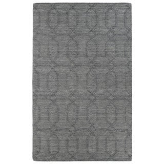 Trends Grey Pop Wool Rug (8' x 11')