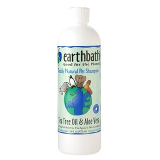 Earthbath Tea Tree Oil Aloe Pet Shampoo