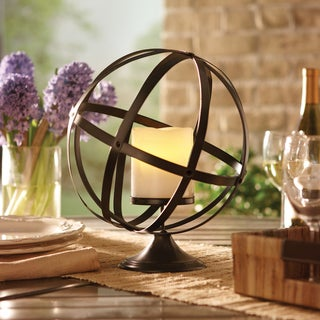 Order Home Collection Metal Orbit Candle Holder