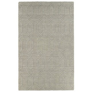 Trends Oatmeal Pop Wool Rug (8' x 11')