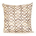 Scroll Pillow 20-inch Down Throw Pillow