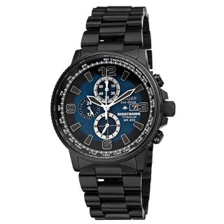 Citizen Men's 'Nighthawk' Titanium Eco-Drive Watch
