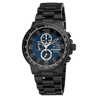 Citizen Men's 'Nighthawk' Titanium Eco-Drive Watch