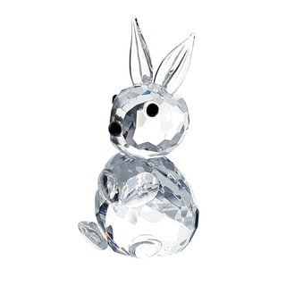 Crystal Florida Crystal Rabbit Figurine