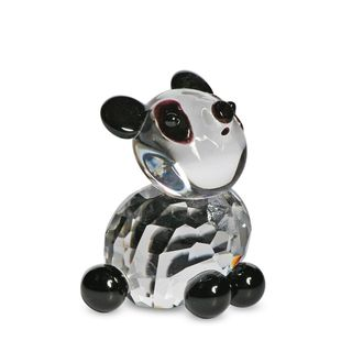 Crystal Florida Crystal Panda Figurine