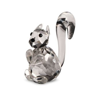 Crystal Florida Squirrel Figurine