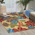 Handmade Sand South Beach Rug (5' x 7'6)