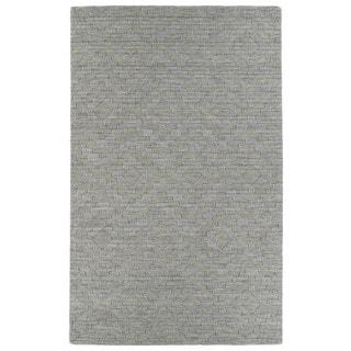 Trends Oatmeal Phoenix Wool Rug (5'x8')