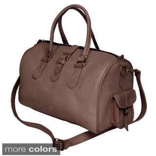 Moroccan Leather Duffel (Morocco)