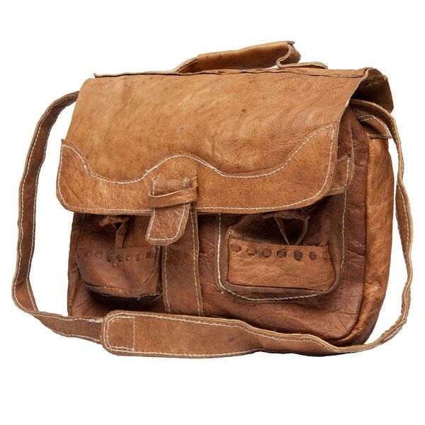 Yak Leather Tablet Bag (Nepal)