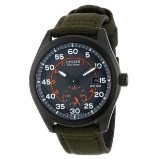 Citizen Men's Black Stainless Steel Watch