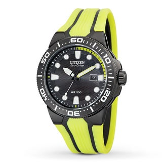 Citizen Men's Scuba Fin Water-resistant Stainless Steel Watch