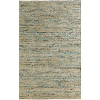 Hand-tufted Loft Multicolored and Beige Variegated Stripe Rug (8' x 11')