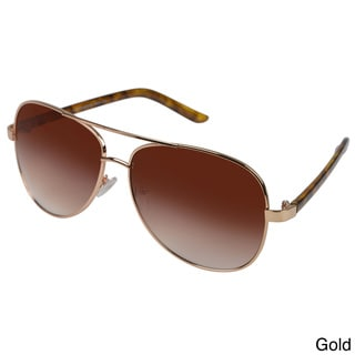 Vance Men's Metal Aviator Sunglasses