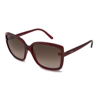 Fendi Women's FS5225 Rectangular Sunglasses