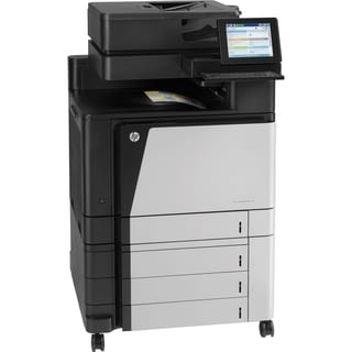 HP LaserJet M880z Laser Multifunction Printer - Color - Plain Paper P