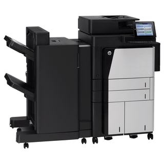 HP LaserJet M830Z Laser Multifunction Printer - Monochrome - Plain Pa