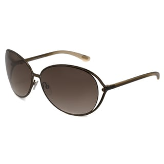 Tom Ford Women's TF0158 Clemence Rectangular Sunglasses