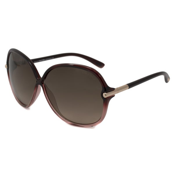 Tom Ford Women's TF0224 Islay Rectangular Sunglasses